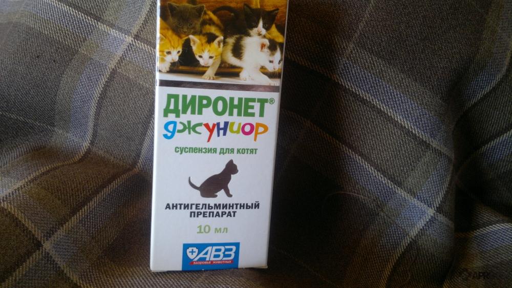Диронет для кошек побочные действия