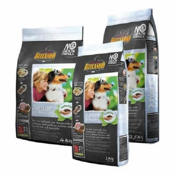 Полезные свойства корма для собак белькандо