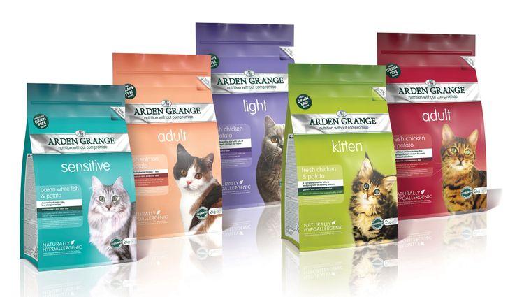 Корм для кошек arden grange: забота о рационе любимца