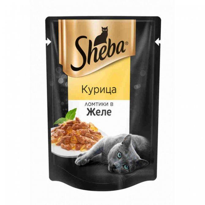 Влажный корм для кошек «шеба» (sheba): описание, состав, производитель, достоинства и недостатки