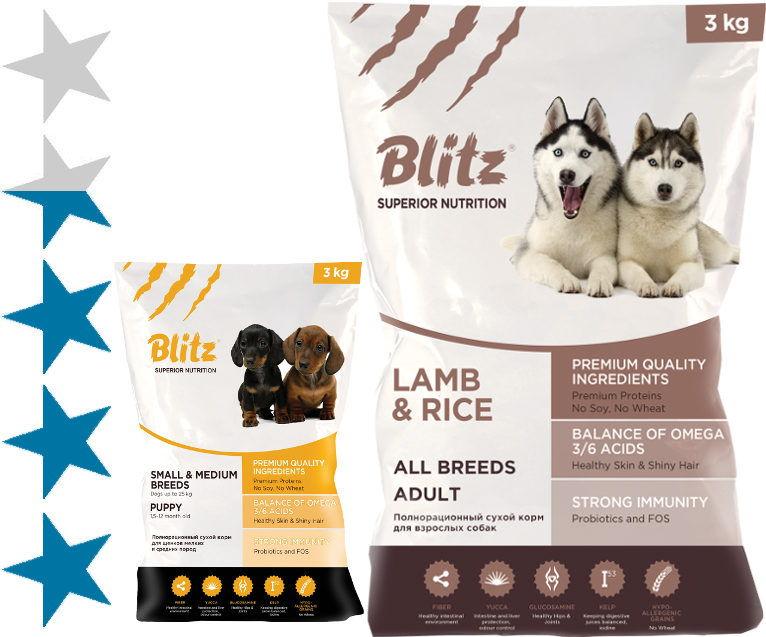 Корма для кошек blitz - рейтинг 2021 года