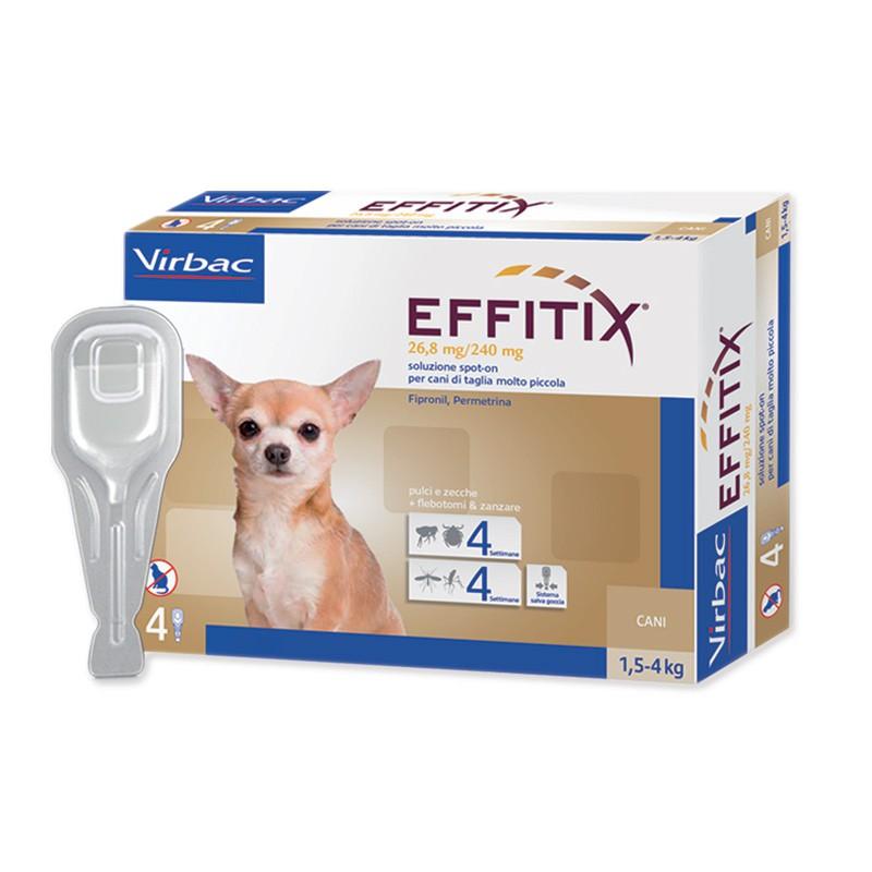 Эффитикс для собак защитит от клещей