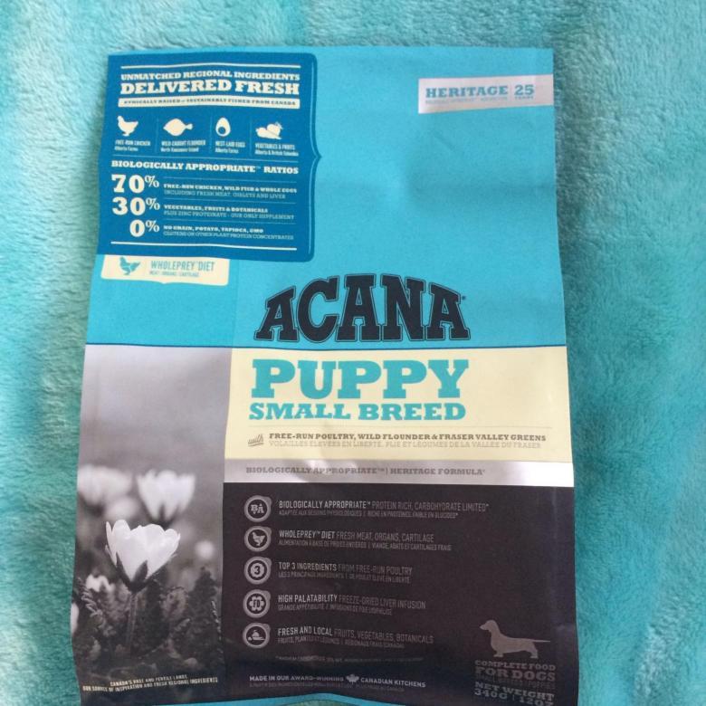 Корм для собак acana (акана)