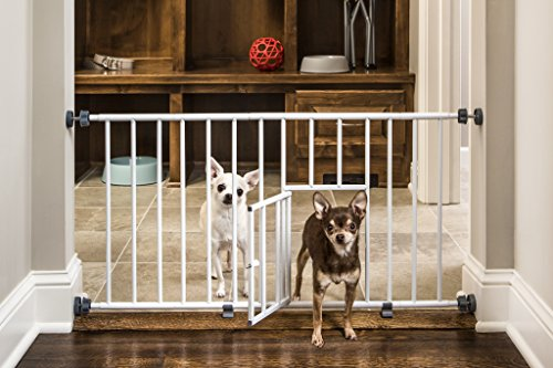 Загородка в дверной проем для собак своими руками