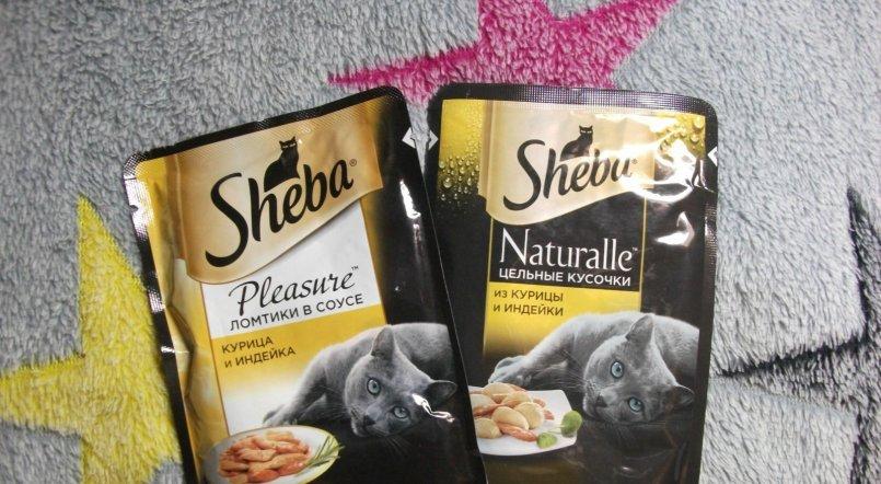 Отзывы о консервы для кошек sheba
