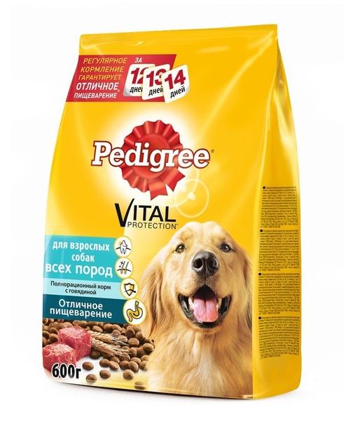 Корм для собак pedigree: отзывы, разбор состава, цена