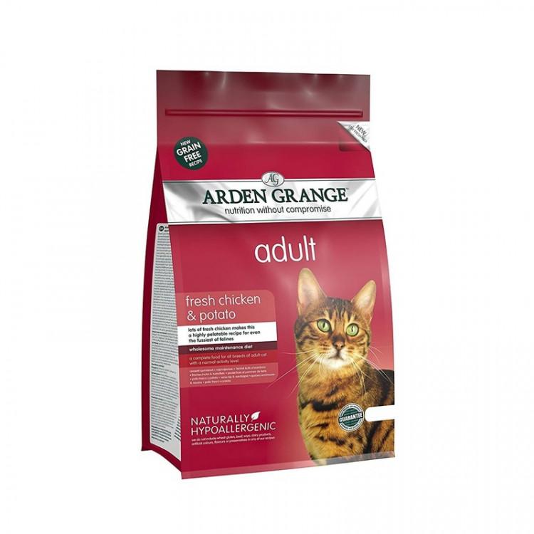 Отзывы о корме arden grange (арден гранж) для кошек