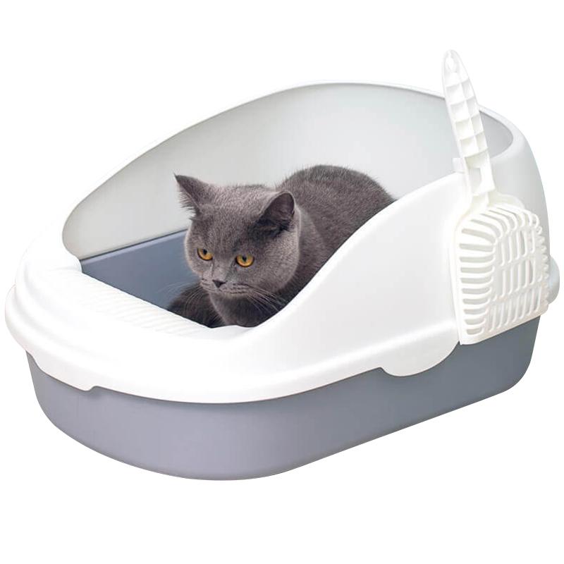 Туалет для кошек: томат без запаха, с сеткой и угольным фильтром, savic, triol, trixie, вертикальный, дорожный и другие виды