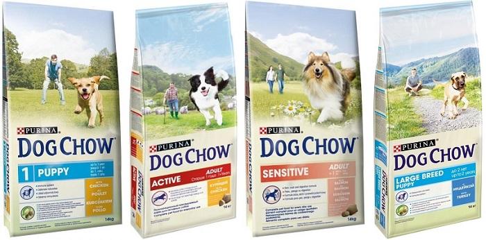Сухой корм для собак «dog chow» («дог чау») — обзор и описание линейки, состав, виды, плюсы и минусы