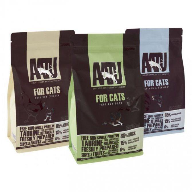 Aatu корм для кошек — состав и обзор линейки