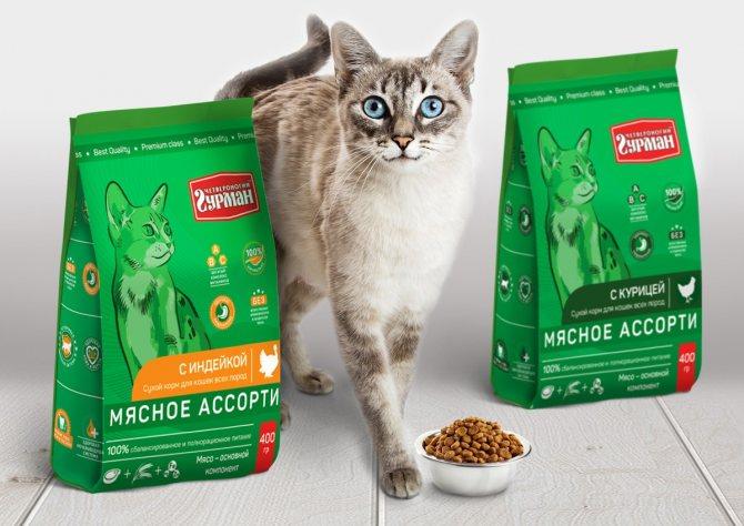 Корма для кошек от брендов purina®