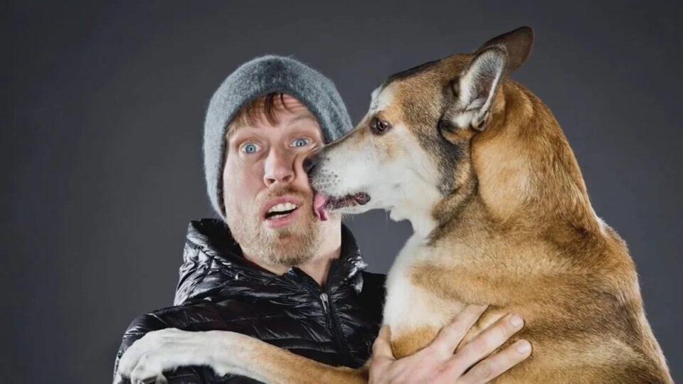 5 причин почему собака лижет лицо хозяина