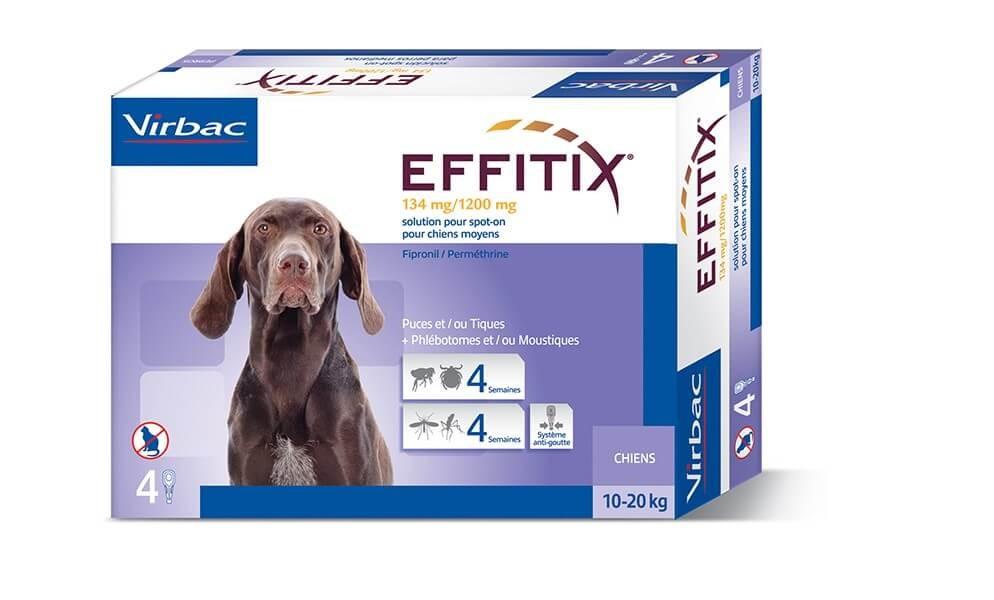 Эффитикс для собак: инструкция по применению, дозировка, ограничения и отзывы