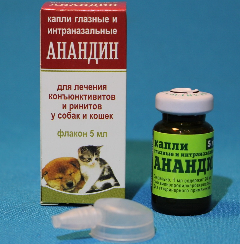 Препарат для собак анандин – инструкция по применению