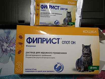 Бродлайн спот-он для кошек: инструкция по применению, эффективность, особенности