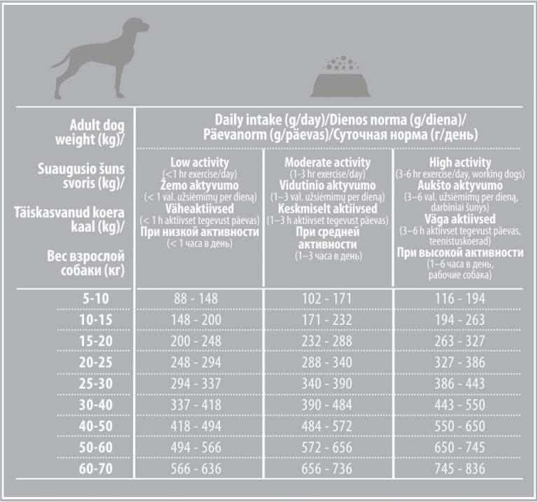Что давать немецкой овчарке: сухой корм, натуральную пищу или консервы? таблица рациона питания