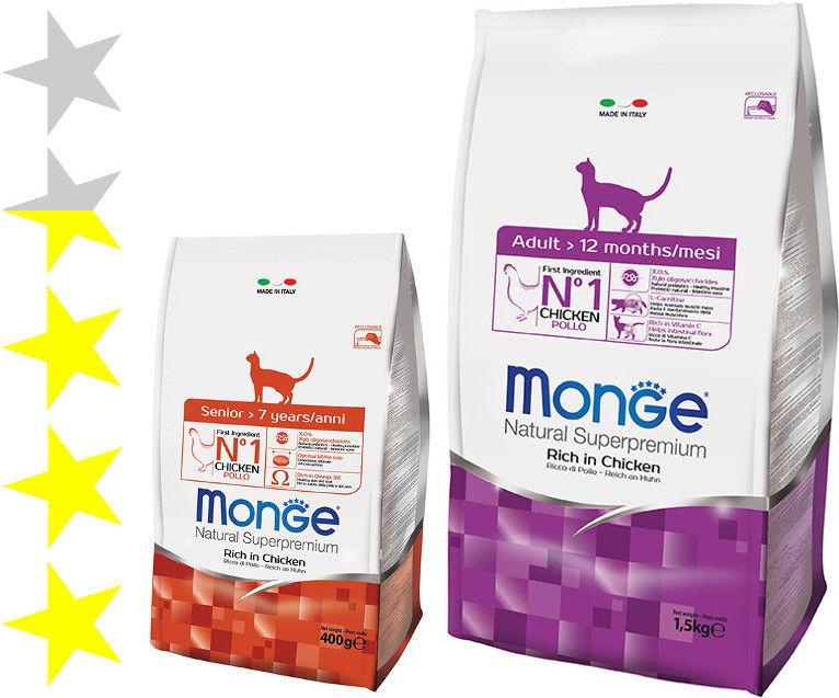 Корм монж (monge) для кошек | состав, цена, отзывы