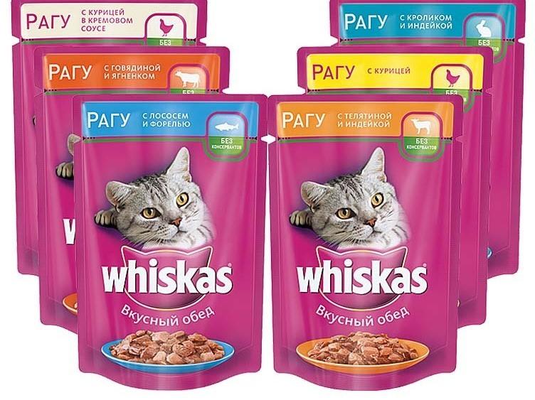 Сухой и влажный корм для кошек пурина фрискис