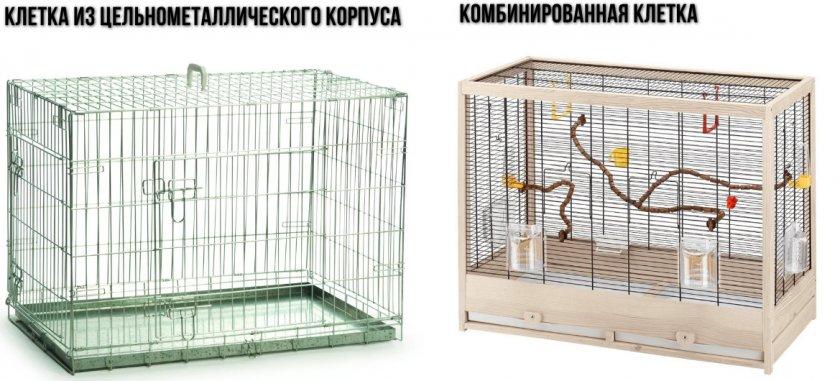 Подходящие клетки для волнистых попугаев