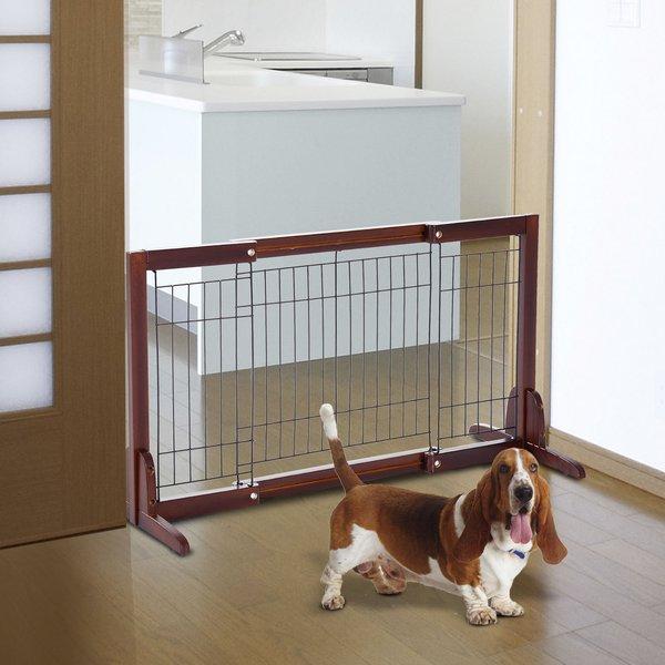 Перегородка для собаки дома