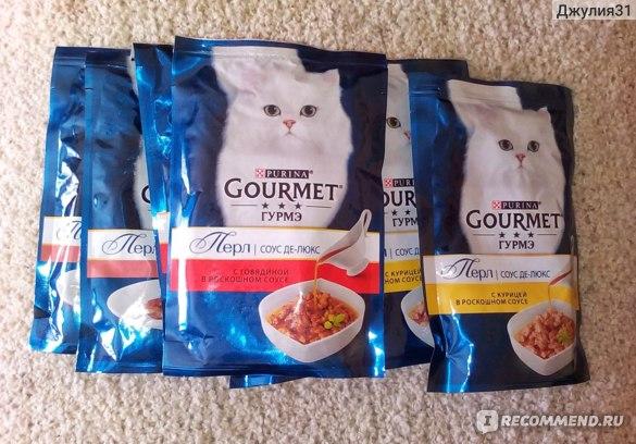 Корм гурмет для кошек: состав и отзывы ветеринаров