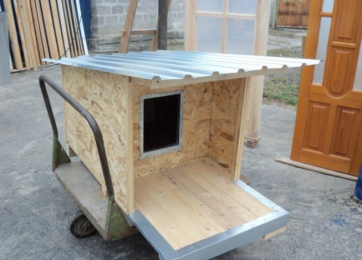 Как утеплить будку для собаки на зиму пошаговая инструкция