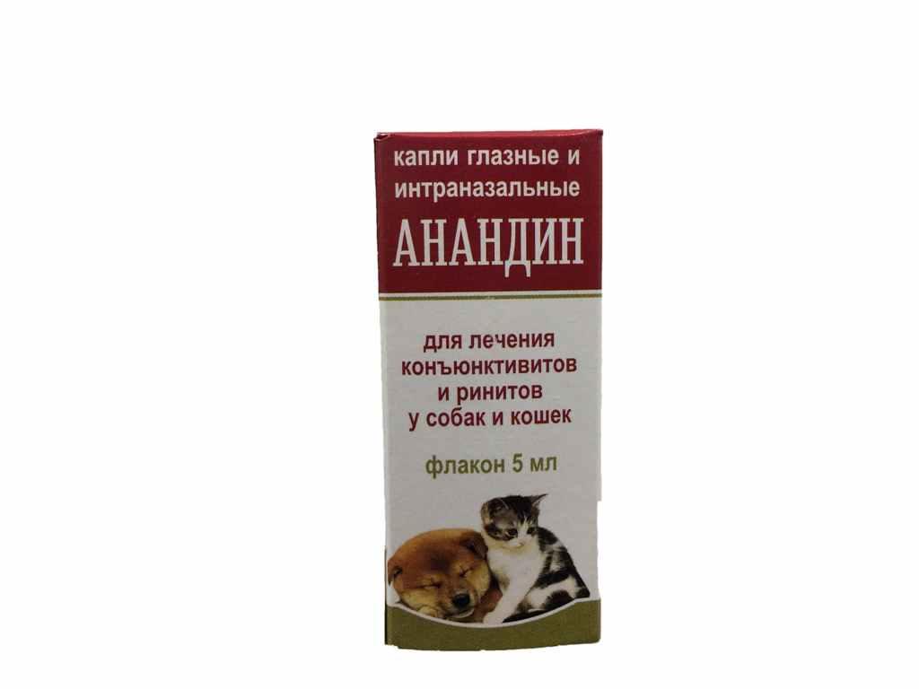 Анандин для собак: противовирусный препарат для различных болезней- обзор