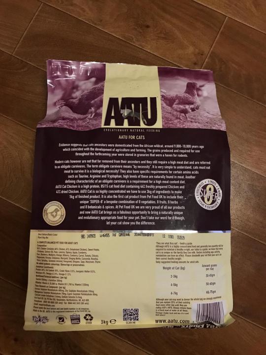 Aatu (аату): обзор корма для кошек, состав, отзывы