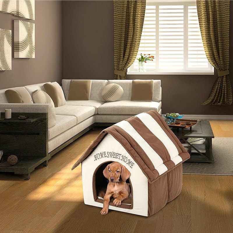 Домики для собак в квартиру: особенности, виды и изготовление своими руками