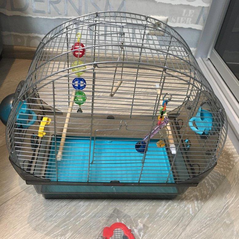 Как сделать клетку для попугая своими руками