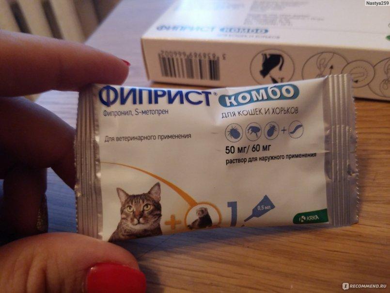 Фиприст для кошек: инструкция по применению, состав, дозировка и цена