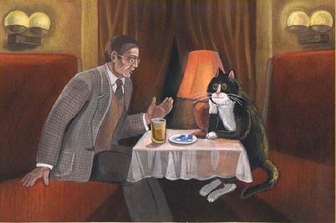 Если домашняя кошка разговаривает