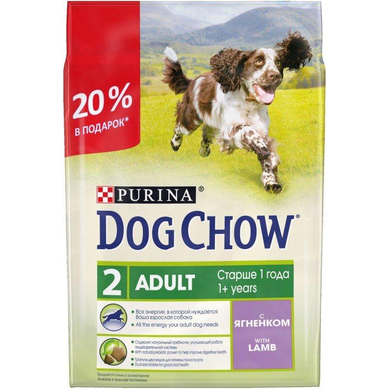 Корм для собак dog chow — отзывы и обзор состава