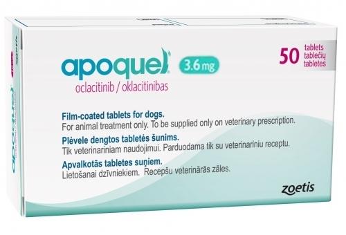 Апоквел для собак 3,6 мг 100 таблеток купить по выгодной цене на официальном сайте