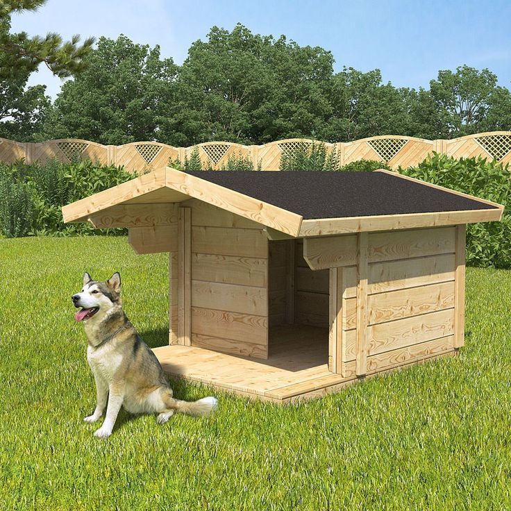 Будка для собаки своими руками: чертежи, пошагово, утепление