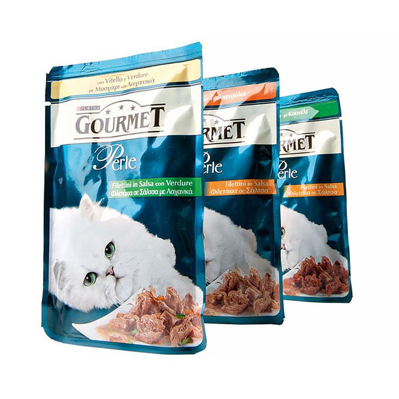 Все о кормах для кошек gourmet