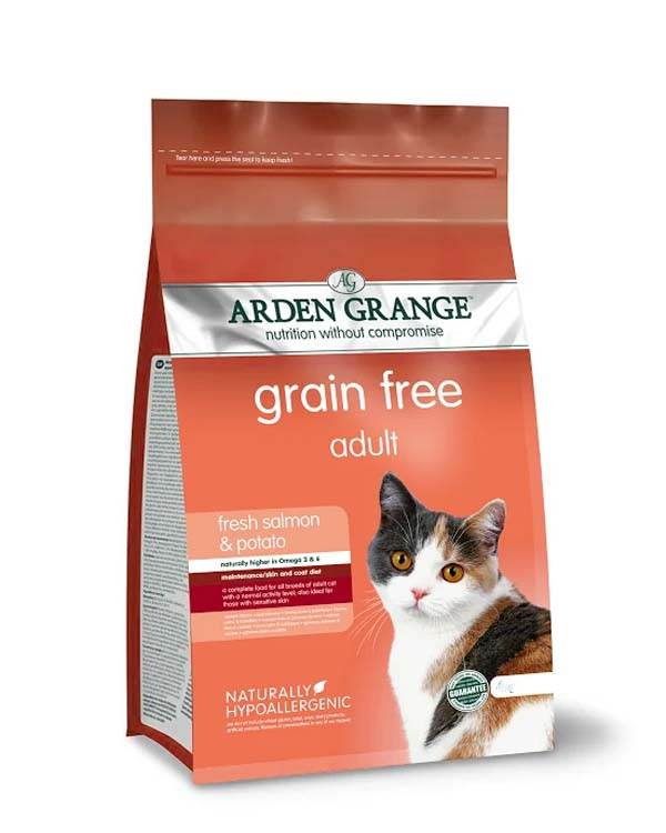 Корм для кошек arden grange: отзывы и обзор состава   сайт «мурло»