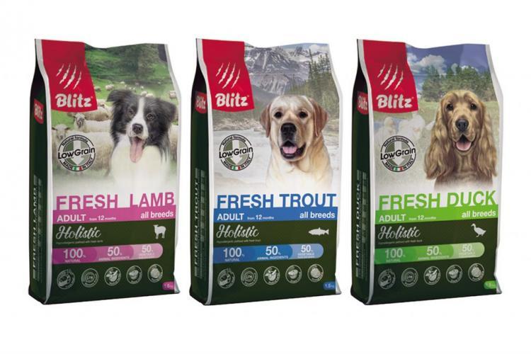 Корм для собак blitz holistic: отзывы, разбор состава, цена