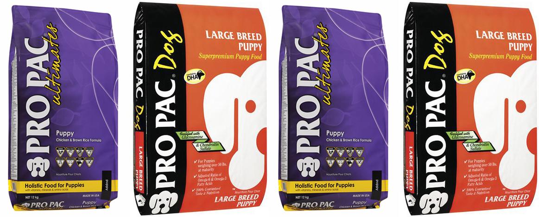 Сухой корм pro pac (про пак) для собак – секрет здоровья питомца и экономии бюджета