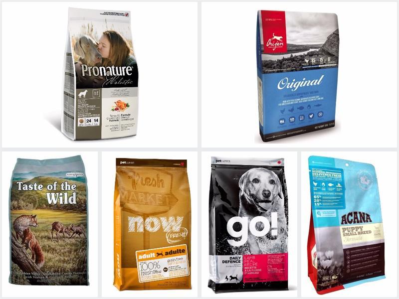 Классы кормов для собак: сравнения и рейтинг