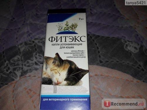 Капли фитекс для кошек - инструкция по применению