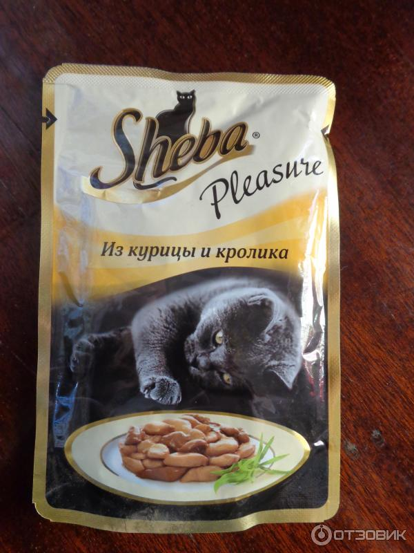 Корм шеба (sheba) для кошек