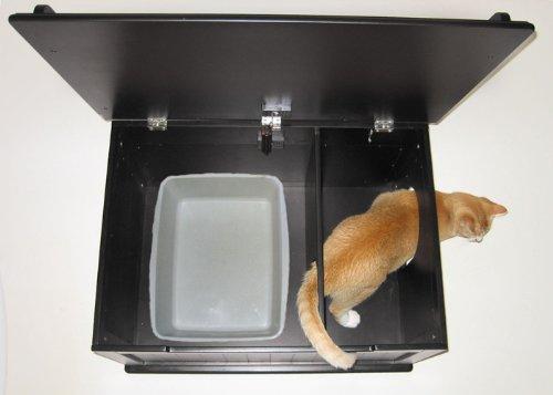 Обзор 8-ми лучших закрытых туалетов для кошек. рейтинг по отзывам пользователей