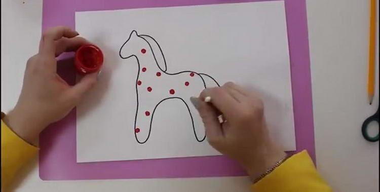 Рисунки собаки по клеточкам