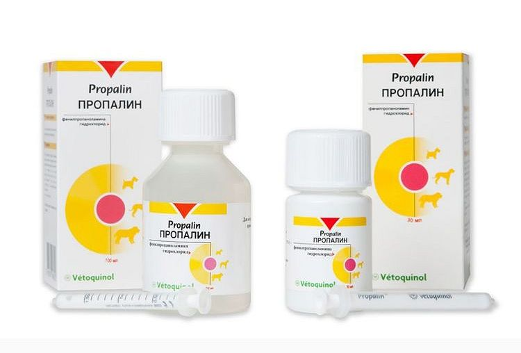 Препарат для собак vetoquinol пропалин сироп сироп, 30 мл