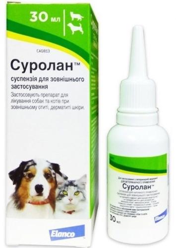 Суролан – ушные капли для собак: инструкция по применению, особенности, отзывы
