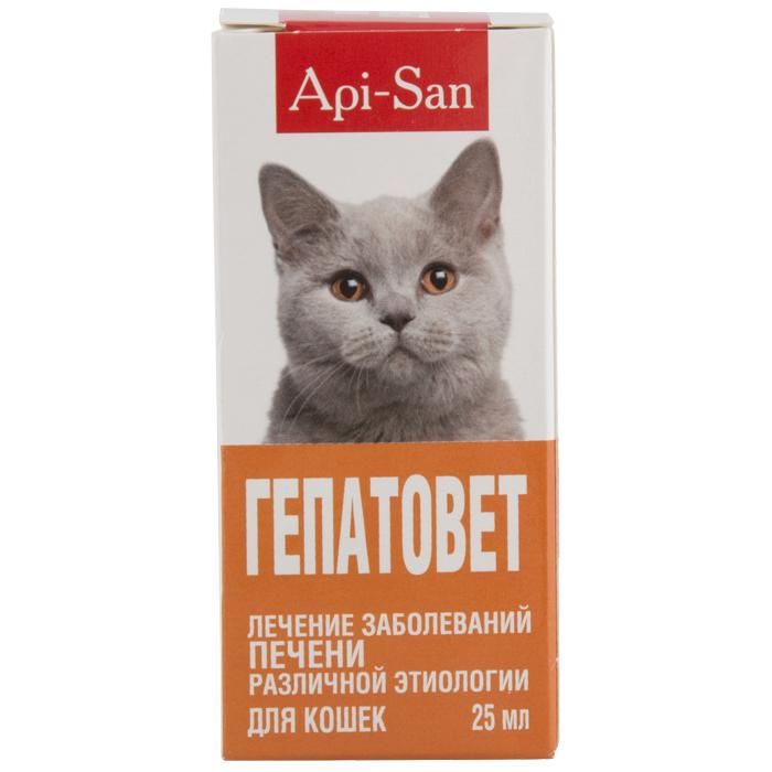 Гепатовет для кошек инструкция по применению, отзывы, аналоги