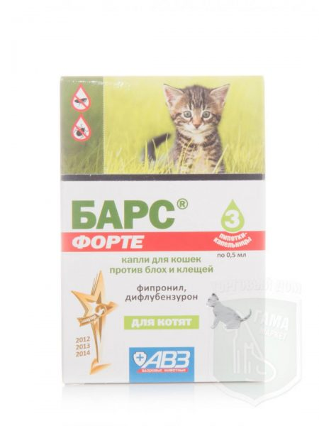 Капли барс для кошек: побочные эффекты, состав, цена + отзывы ветеринаров о каплях против блох и клещей