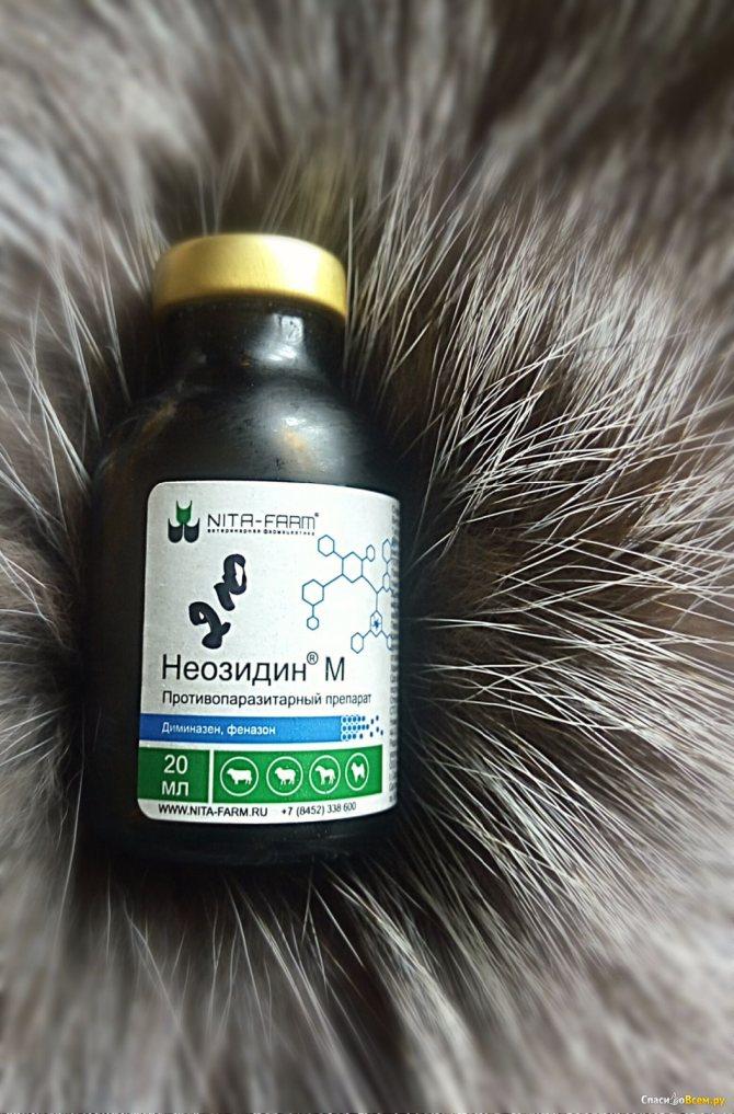 Неозидин: инструкция по применению препарата  (neosidini) для собак, лошадей, крс, овец и др. животных
