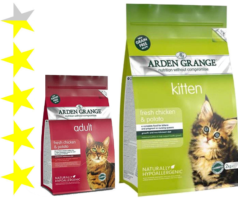 Корм арден гранж (arden grange) для кошек   состав, цена, отзывы